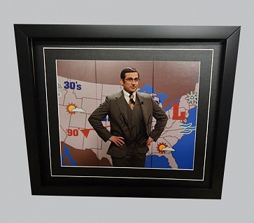 Steve Carell Signed Colour Photo