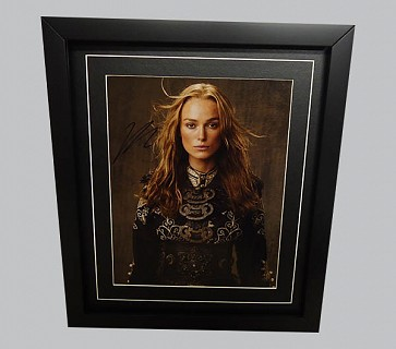 Kiera Knightley Signed Colour Photo