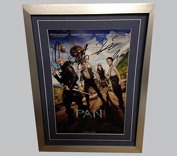 PAN Multi Cast Signed Poster