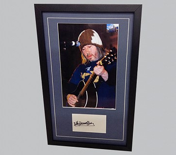 Badly Drawn Boy Signed Postcard + Photo