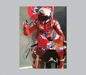Casey Stoner Signed Super Bikes Photo