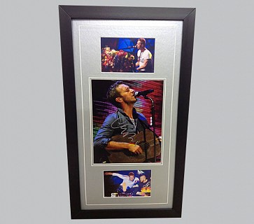 Chris Martin Signed Photo + 2 Colour Photos