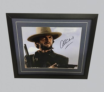 "Clint Eastwood ""Outlaw Josey Wales"" Signed Colour Photo"