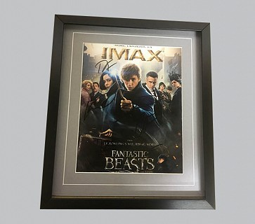 Fantastic Beasts Signed Film Poster