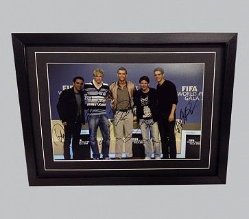 FIFA World Player Gala 2008 Signed Colour Photo