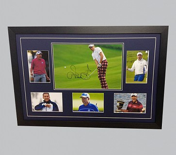 Ian Poulter Signed Colour Photo + 5 Photos