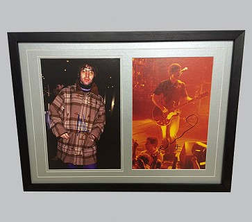 Liam & Noel Gallagher Signed Colour Photos
