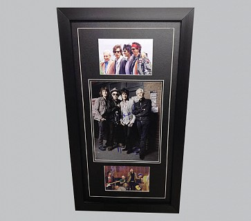 Rolling Stones Signed Colour Photo + 2 Photos