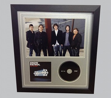 Snow Patrol Signed Colour Photo + CD & CD Cover