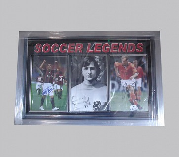 Soccer Legends Football Memorabilia