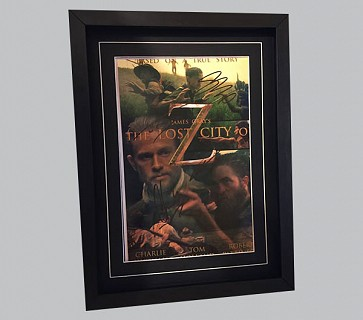 The Lost City of Z Signed Movie Poster